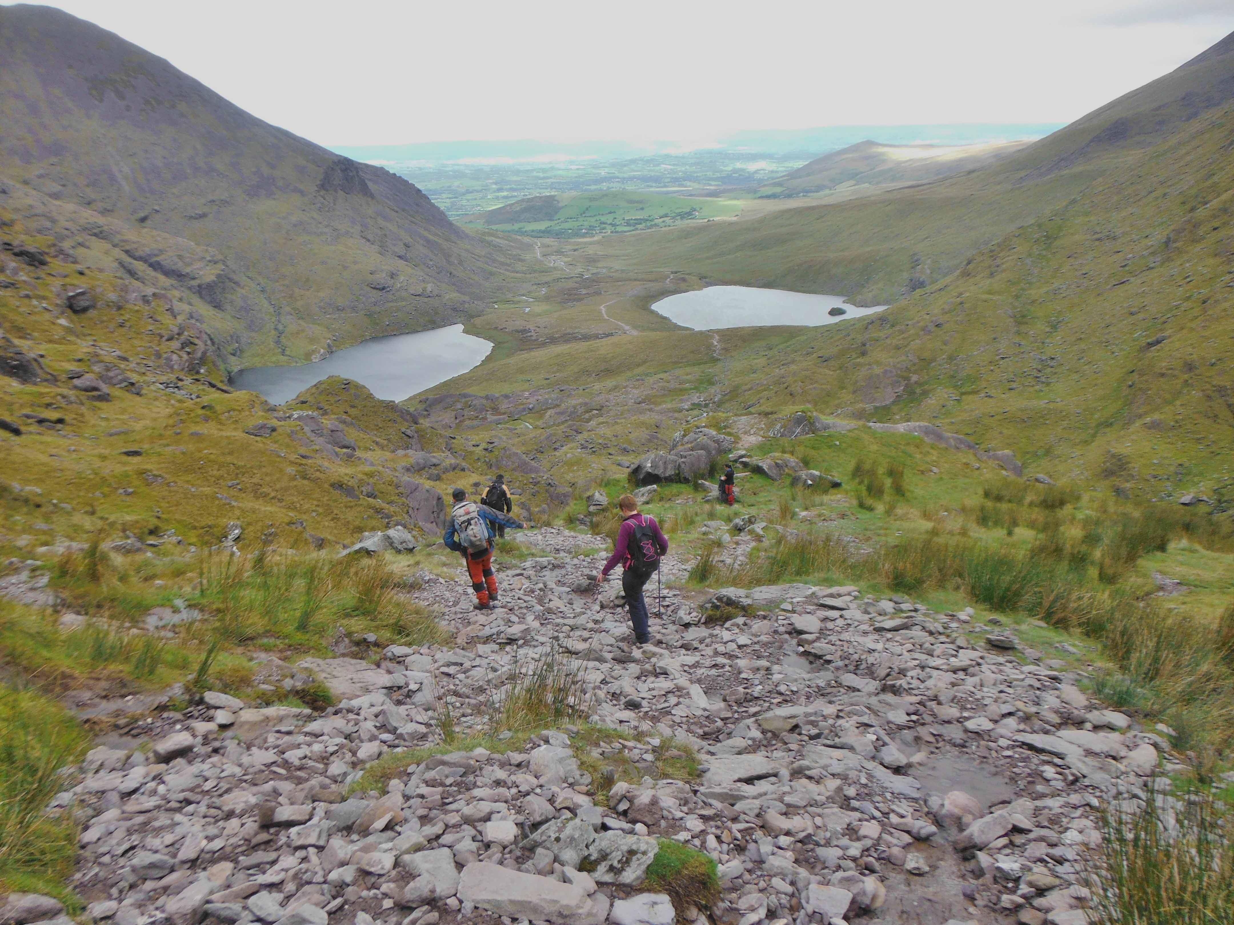 Hag's Glen at foot of Carrauntoohil